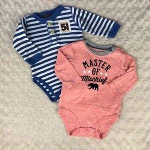 Baby Boy OshKosh B'Gosh Shirt Bundle 6 Months